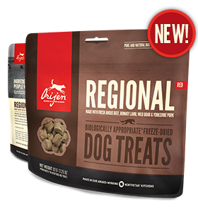 Orijen - Dog Treats - Regional Red