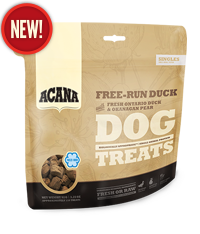 Acana - Singles Treats - Free-Run Duck