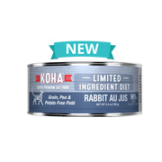 KOHA L.I.D Rabbit Pate for Cats 3oz