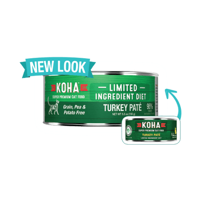 KOHA L.I.D Turkey Pate for Cats 3oz