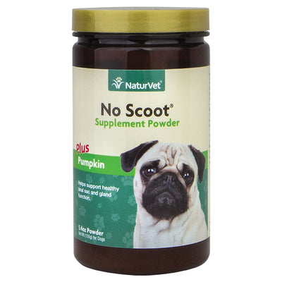 naturvet no scoot supplement powder with pumpkin