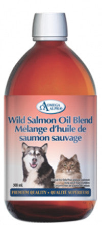 Omega Alpha Wild Salmon Oil - 500 ml
