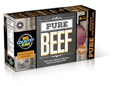 big country raw pure beef