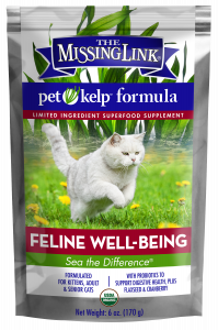 The Missing Link - Pet Kelp Limited Ingredient Supplement Cat - Well-Being 6oz