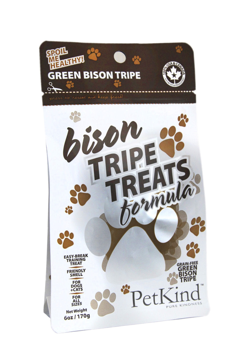 Petkind Green Bison TripeTreat Formula
