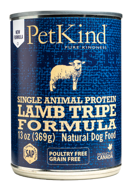 PetKind Single Animal Protein Lamb Tripe Formula