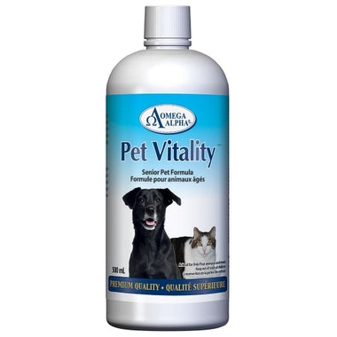 omega alpha pet vitality senior pets