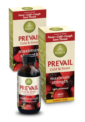 Prevail Cold and Fever Maximum Strength 90 ml