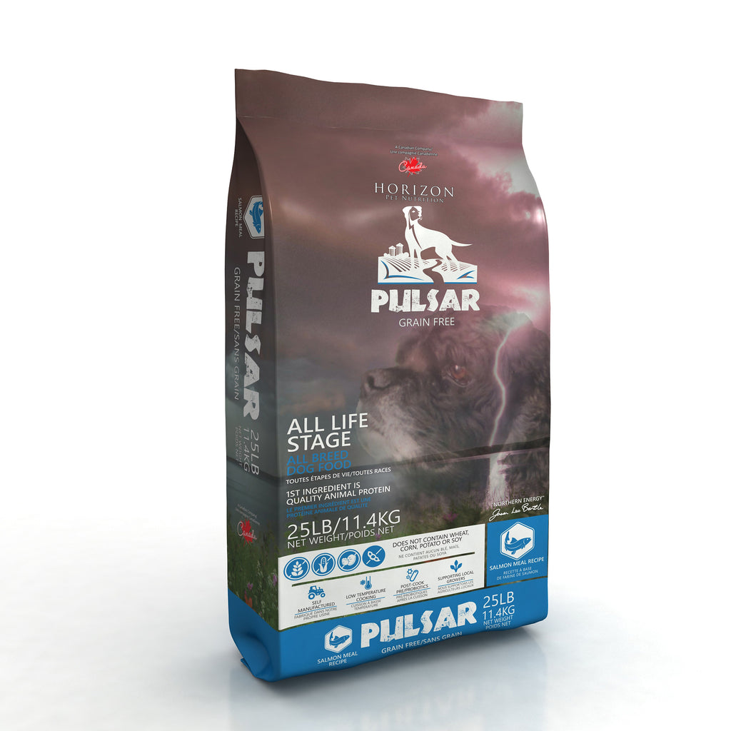 Pulsar Salmon Dog Food New Bag