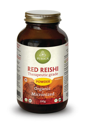 Red Reishi Micronized Mushrooms 100g
