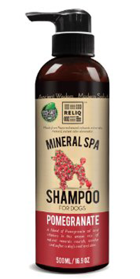 Reliq - Mineral Spa Shampoo for Dogs - Pomegranate