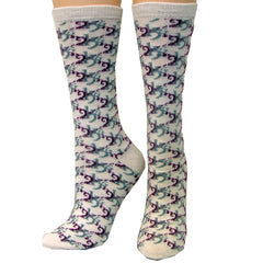 2KGrey - Ladies Merino Wool Socks