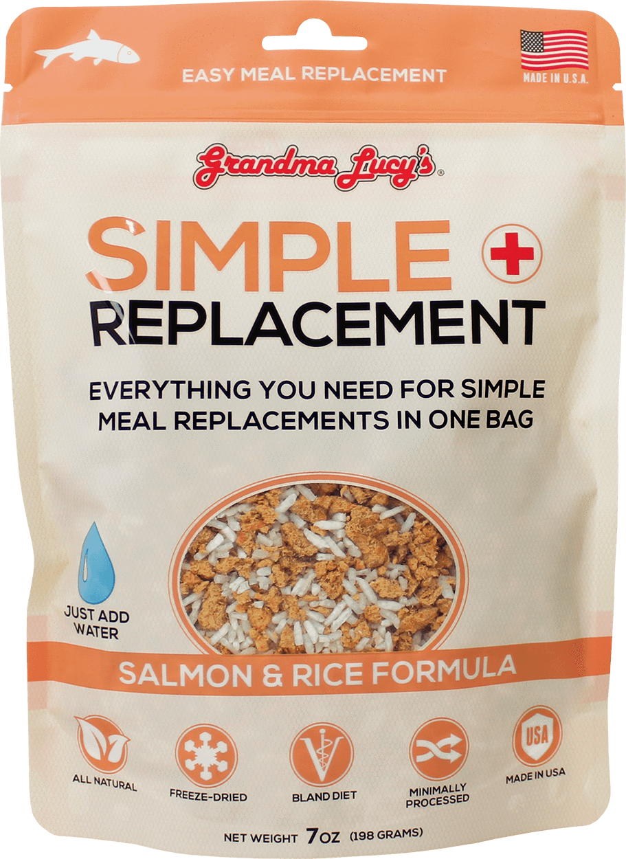 Grandma Lucys - Simple Replacement - Salmon and Rice