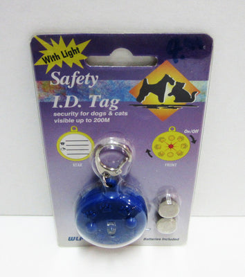 WLPet - Safety ID Tag with Light