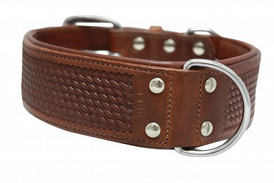 Angel Elite Leather Collar - Santa Fe