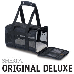Sherpa Original Deluxe Pet Carrier - Black
