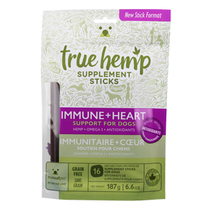 true hemp true leaf immune and heart sticks