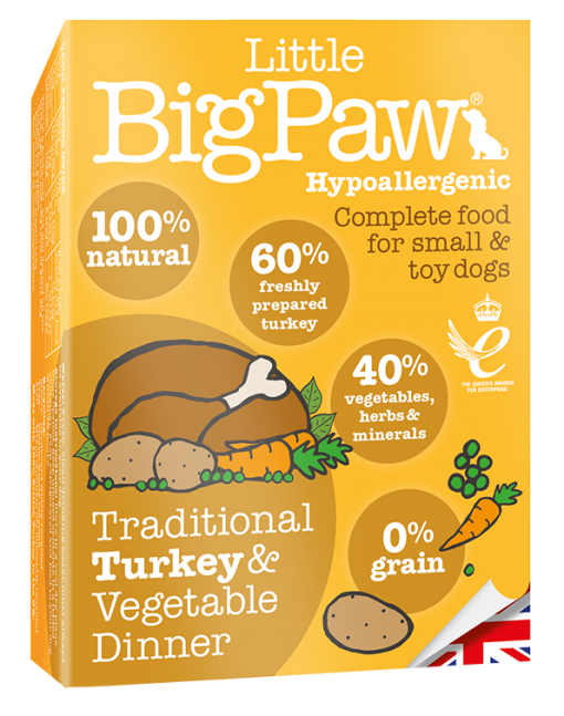 Little Big Paw - Traditional Turkey and Vegetable Dinner - Wet Dog Food