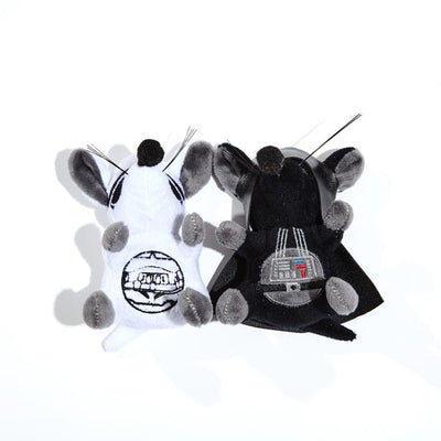 Silver Paw Star Wars Storm Trooper/Vader Mice 2Pc