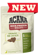 Acana High-Protein Biscuits Pork Liver for dogs 255 g