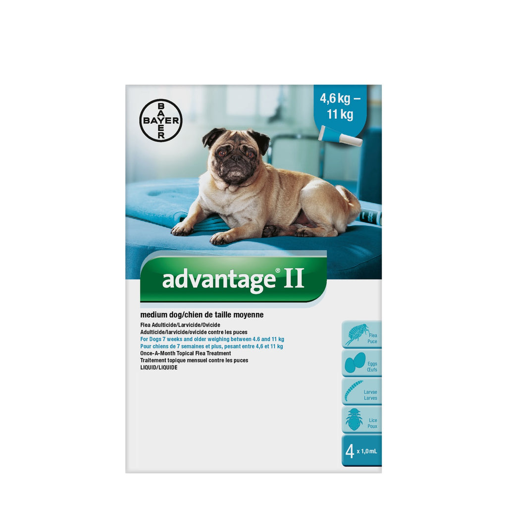 Advantage II medium dog