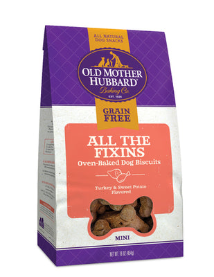 Old Mother Hubbard ® Grain Free All The Fixin's Mini Dog Treat 16 oz