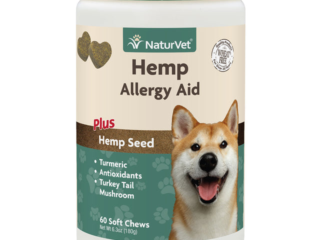 NaturVet - Allergy Aid For Dogs