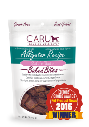 Caru Alligator Recipie Soft 'n Tasty Baked Bites 3.75oz