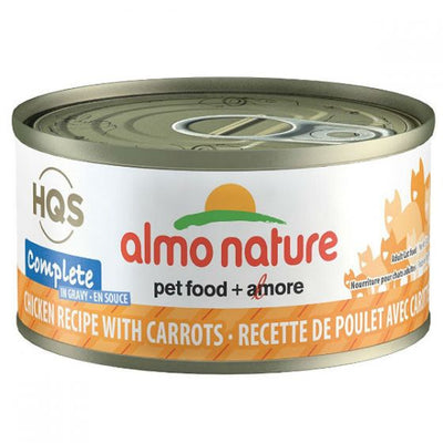 Almo Nature - HQS Natural - chicken and Carrots in gravy 2.47 oz / 70g