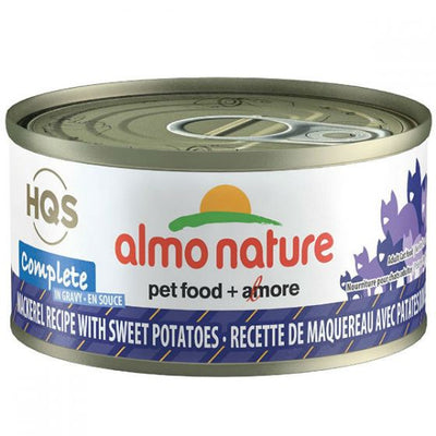 Almo Nature - HQS -  Mackerel With Sweet Potatoe and gravy 70g