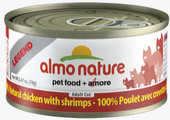 Almo Nature - Natural Chicken with Shrimp for Cats