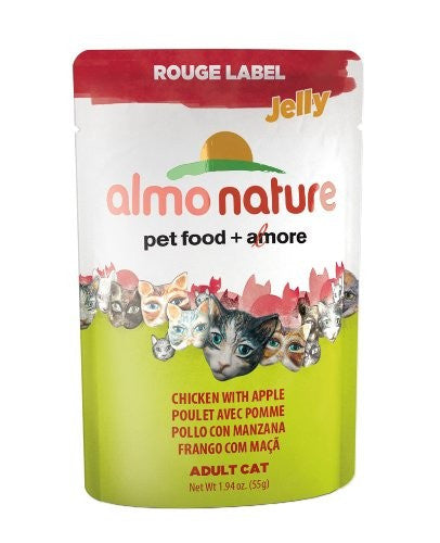Almo Nature - Rouge Label Pouches - Chicken with Apple