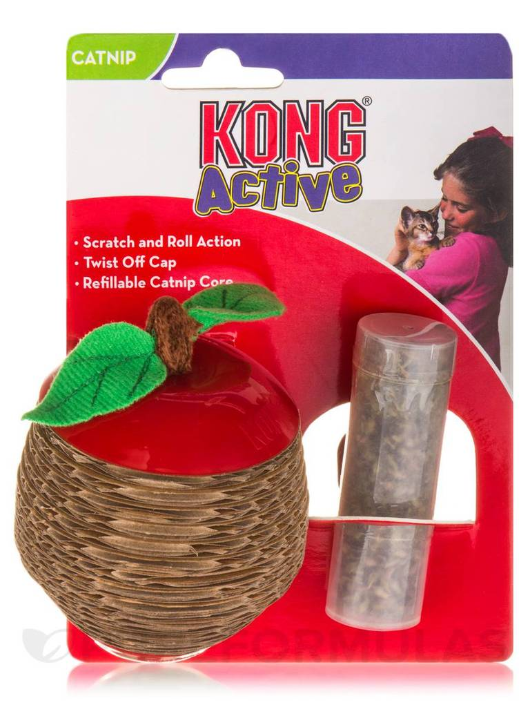 Kong Scratch Apple Cat Toy - SALE