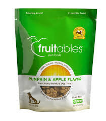 Fruitables Pumpkin & Apple Flavor 7 oz Dog Treat