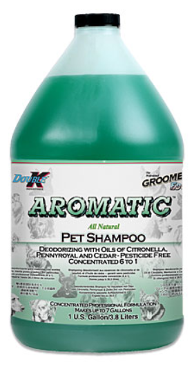 Aromatic All Natural Pet Shampoo Gallon