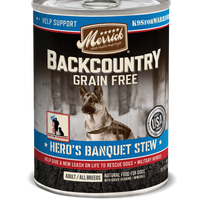 Merrick - Back Country - Canned Dog Food - Hero's Banquet Stew