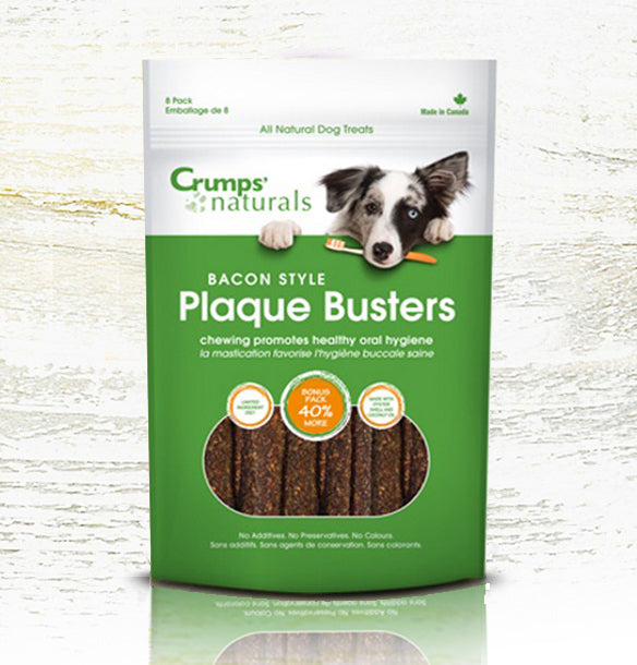 Crump's Naturals Plaque Busters - 8 Pack - Bacon