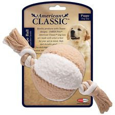 American Classic Rope Ball Puppy Toy SALE