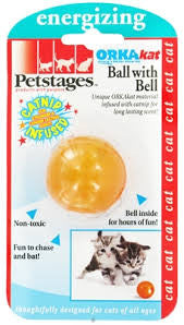 Petstages Ball With Bell Cat Toy