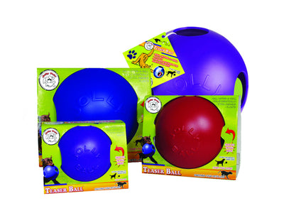 Jolly Pets © Teaser Ball Within A Ball Red Dog Toy