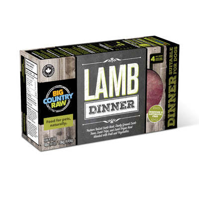 Big Country Raw - Lamb Dinner