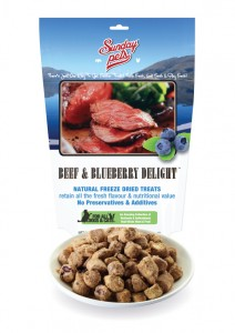 Sunday Pets NZ Beef & Blueberry Delight Treat 50g