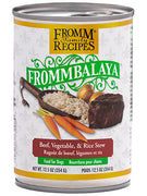 Fromm Frommbalaya Beef , Vegietable & Rice Stew  12.5 oz Dog Wet