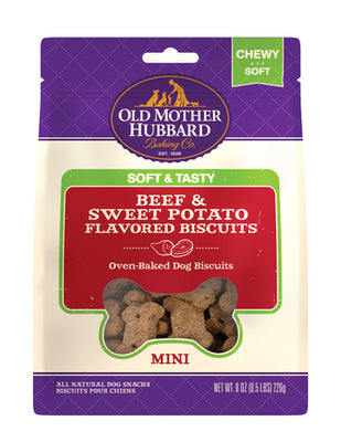 Wellness ® Old Mother Hubbard ® Soft & Tasty Beef & Sweet Potato 8 oz Mini Dog Treat
