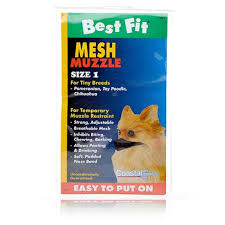 Best Fit Mesh Muzzle - Size 1 - Tiny Breeds