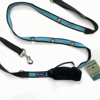 "Smoochy Poochy - 2 Tone - Hands Free Leash 1""x 6' (various colours)"