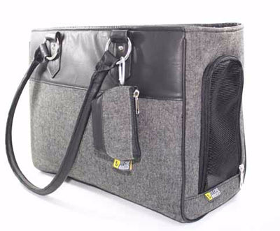 Be One Breed - Black & Grey Pet Carrier NEW