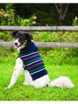 Outdoor Dog Sweater-Navy