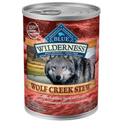 Blue Wilderness Wolf Creek Adult Savory Salmon Stew 12 oz