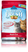 Blue Naturally Fresh Multi Cat Clumping Walnut Litter